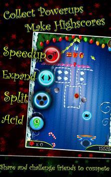PaddleShock Breaker: Christmas screenshot 3