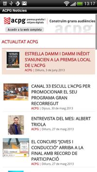 ACPG Notícies poster