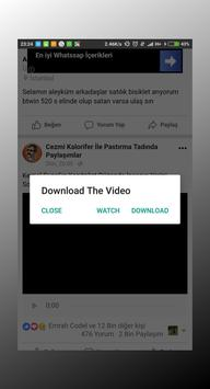 FB Video Download Manager screenshot 1