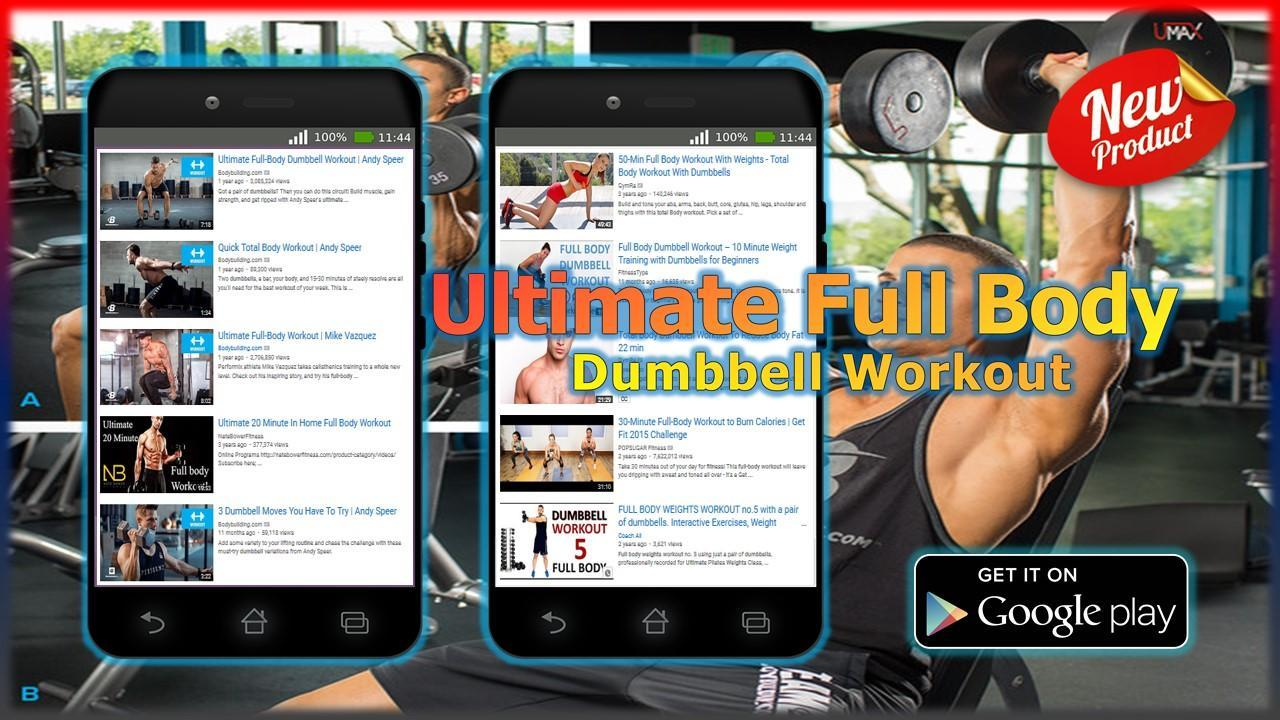 Ultimate Full Body Dumbbell Workout for Android - APK Download