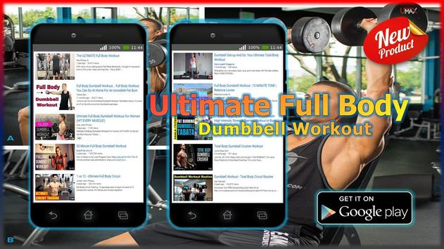 Ultimate Full Body Dumbbell Workout Apk Screenshot
