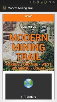 Modern Mining Trail poster