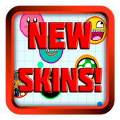New skins for Agario icon
