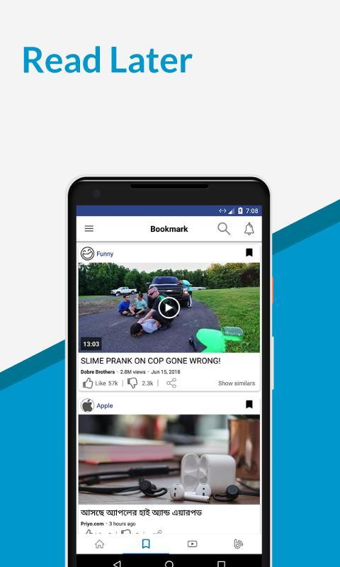 Bangla News, Blogs & Videos - Dungulie for Android - APK