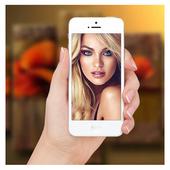 Selfie Camera Photo Frame icon