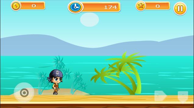 Bajak Laut - Pirate Run screenshot 1