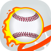 Baseball Line Shot Hop icon