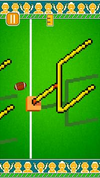 Tappy Flappy Football Game poster