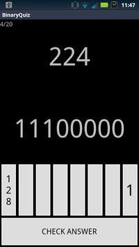 Binary Conversion Quiz poster