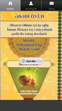 Əbədi Öyüd 2 cild poster
