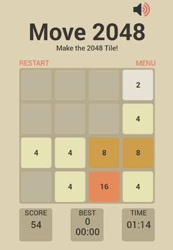 2048 the New Game apk screenshot