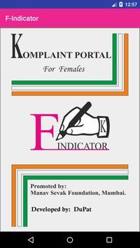 F Indicator poster