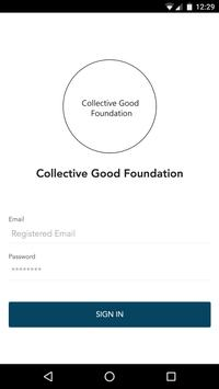 Collective Good Foundation - CGF poster