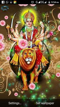 Ma Durga, Lakshmi : Hindu God Live Wallpaper apk screenshot