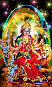 Durga Maa Live Wallpaper poster