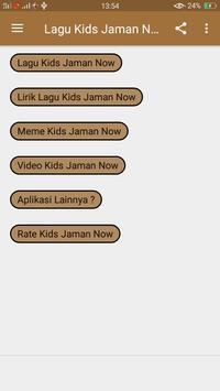 Lagu Kids Jaman Now (Meme + Lirik) screenshot 1