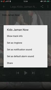 Lagu Kids Jaman Now (Meme + Lirik) screenshot 3