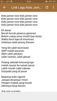 Lagu Kids Jaman Now (Meme + Lirik) screenshot 4