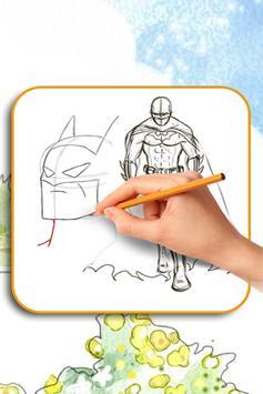 B4tman Draw Guide screenshot 3
