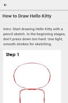 Kitty Draw Guide apk screenshot