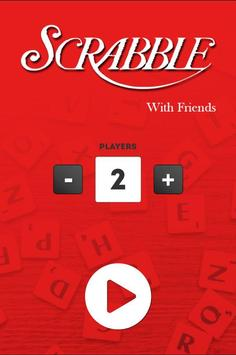 Scrabble with friends poster