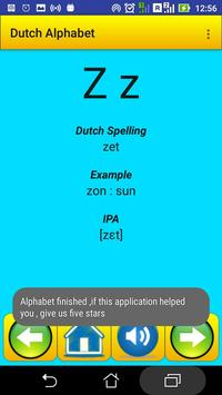 Dutch Alphabet for university students screenshot 4