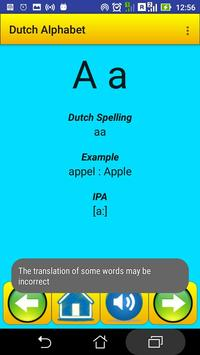 Dutch Alphabet for university students screenshot 5