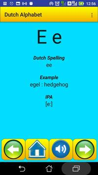 Dutch Alphabet for university students screenshot 8
