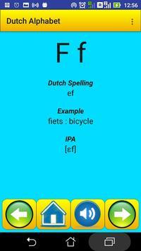Dutch Alphabet for university students screenshot 2