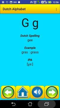 Dutch Alphabet for university students screenshot 3