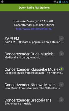 Dutch Radio FM Stations poster