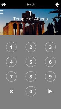 Paestum at night apk screenshot
