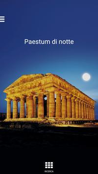 Paestum di notte poster