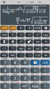 Calculadora científica casio fx 570 991 es plus captura de pantalla de la apk