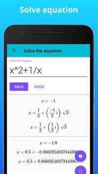 Calculator N+ - Math Solver - CAS calculator screenshot 1
