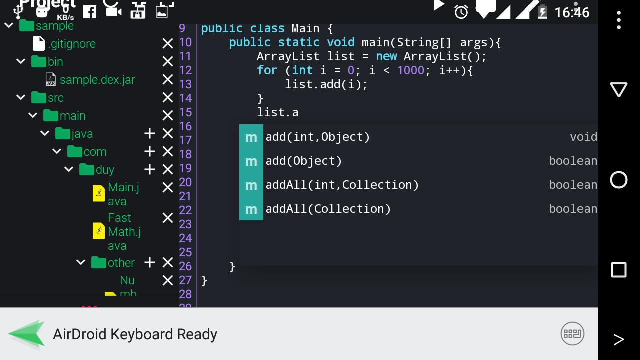Java N-IDE for Android - APK Download