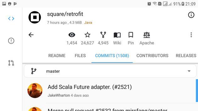 PowerGit - Powerful GitHub Client screenshot 8