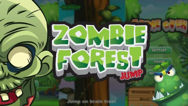 Zombie Forest Jump poster