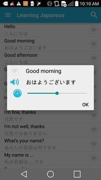 Learn Japanese Phrasebook poster