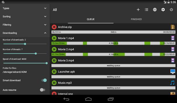 Advanced Download Manager screenshot 10
