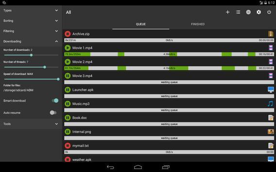 Advanced Download Manager screenshot 8