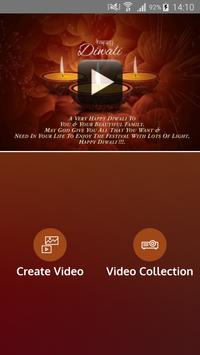 Diwali Video Maker apk screenshot