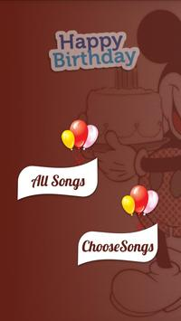 Birthday Song With Name Maker poster