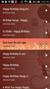 Birthday Song With Name Maker screenshot 1