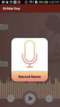 Birthday Song With Name - Song Maker apk screenshot