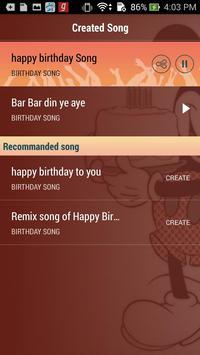 Birthday Song With Name Maker screenshot 4