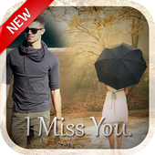 Miss You Photo Frame icon