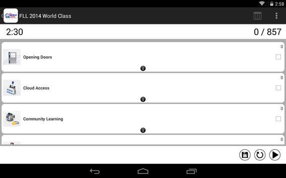 FLL 2014 World Class apk screenshot