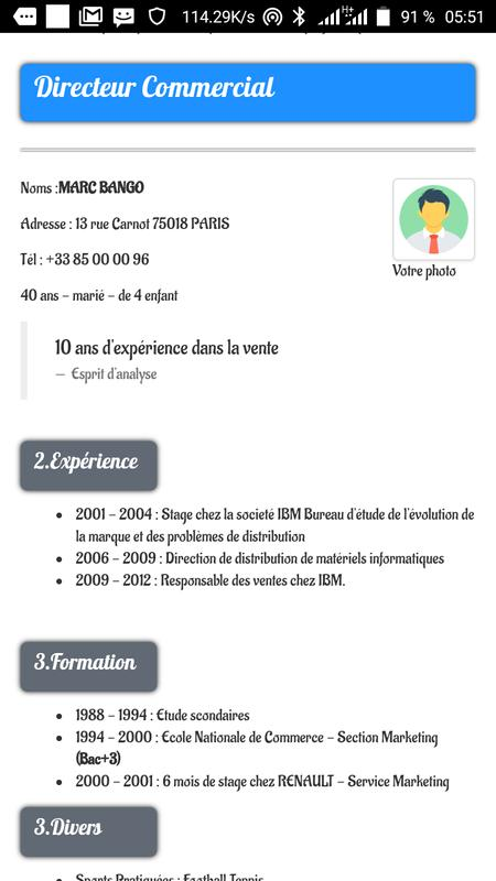 Modele De Lettre For Android Apk Download