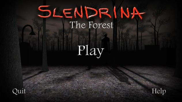 Slendrina: The Forest poster